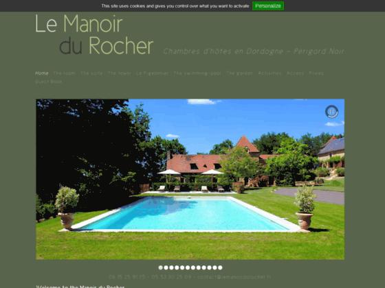 Détails : Le Manoir du Rocher - Location de chambres d'hôtes Dordogne