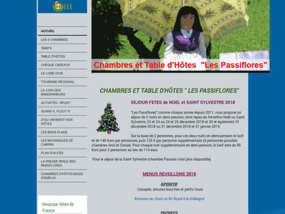 Détails : Les Passiflores - Chambres et tables d'hôtes à Campan (65)