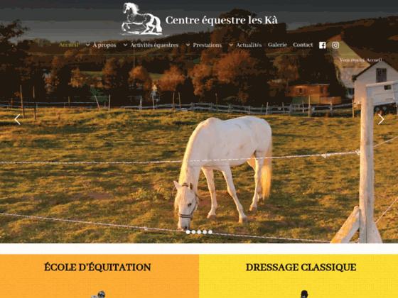 image du site http://www.leska-equitation.ch