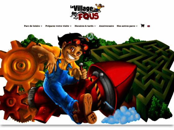 Le Village des Fous, parc de loisirs