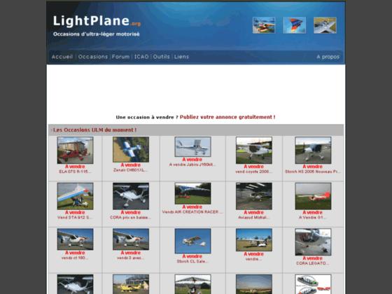 Photo image Lightplane - Forum de l'aviation légère