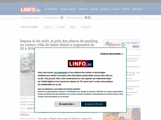 Détails : Linfo.re : actualités politiques et people dans le monde
