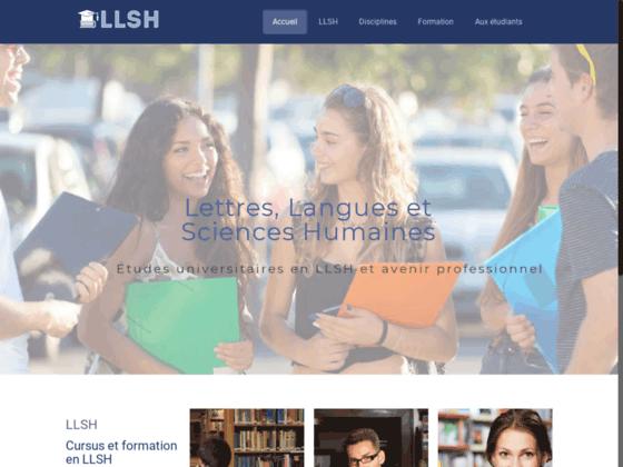 Études universitaires en LLSH : Cursus et formation