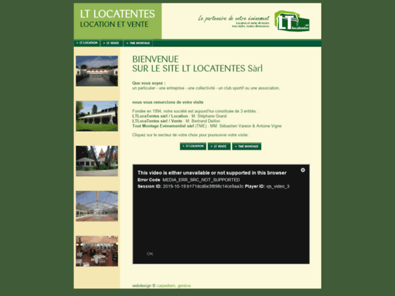 Détails : LT Locatentes - votre partenaire de location de tentes