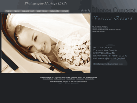 Détails : photographe mariage professionnel