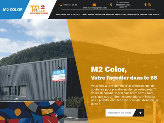 Un projet de rénovation sur Mulhouse? M2 Color est l'expert qu'il vous faut!