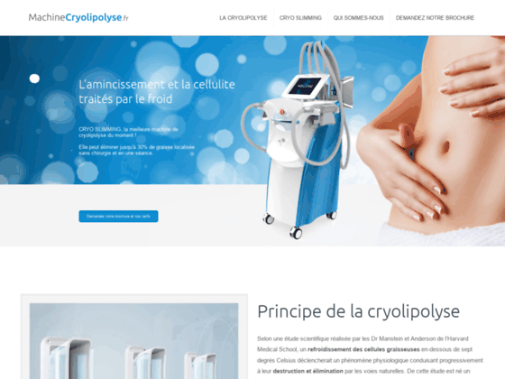 Détails : Machine Cryolipolyse