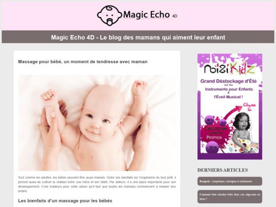 Un blog d'actualité sur le monde des bébés et des enfants