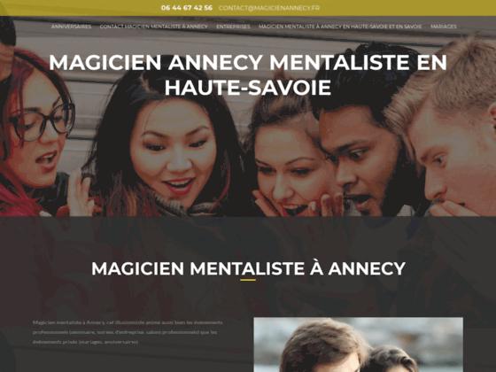 Détails : Magicien mentaliste à Annecy