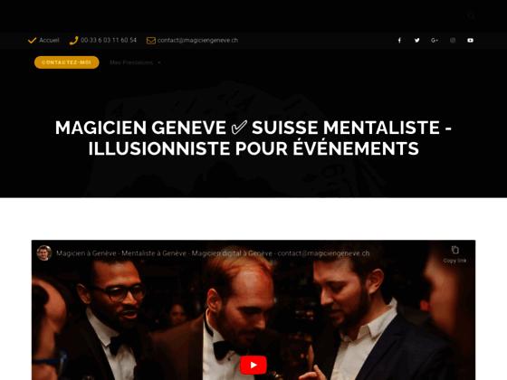 Détails : Magicien à Genève et en Suisse