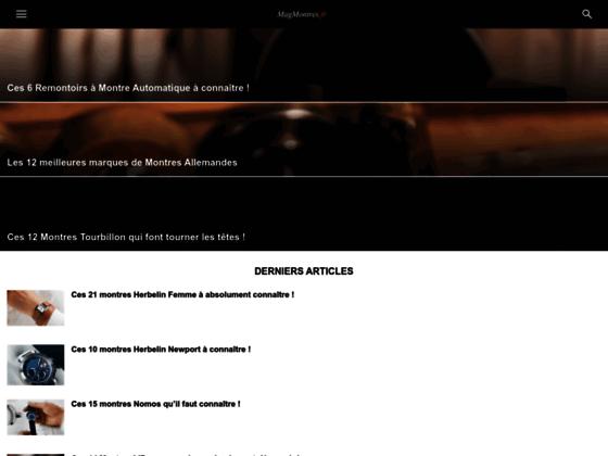 Détails : MagMontres, le magazine de l'horlogerie de luxe