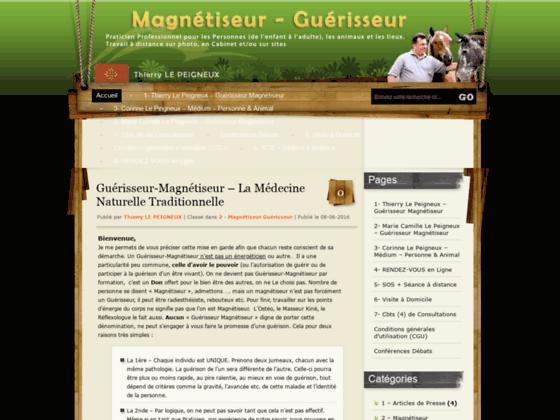 Détails : Magnétiseur