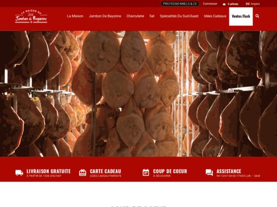 image du site http://www.maison-du-jambon-de-Bayonne.com