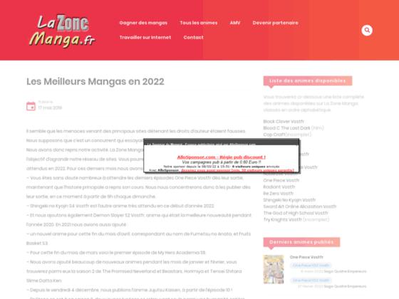 Détails : mangastreet le site du manga et de l'anime