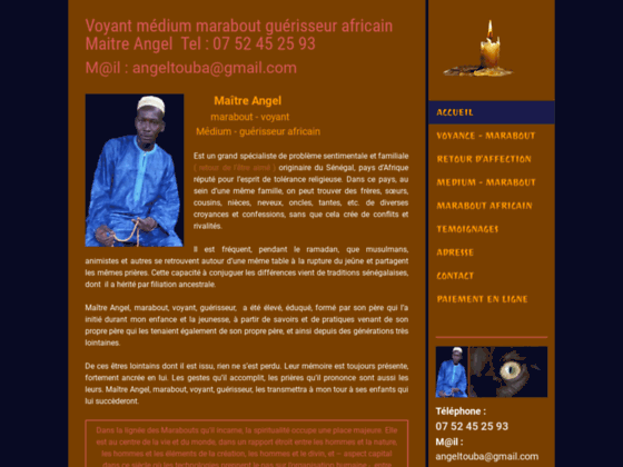 image du site https://www.marabout-angel.com/