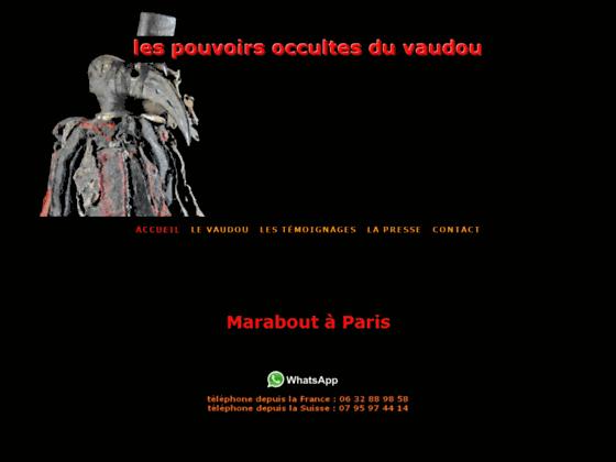 Sorcier Vaudou Mamba à Paris