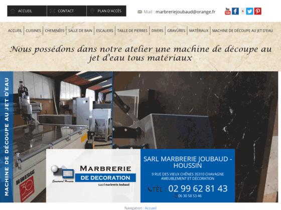 Détails : SARL Marbrerie Joubaud, entreprise de marbrerie