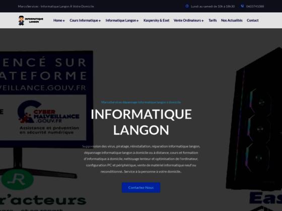 Détails : Marco Services Informatiques Gironde