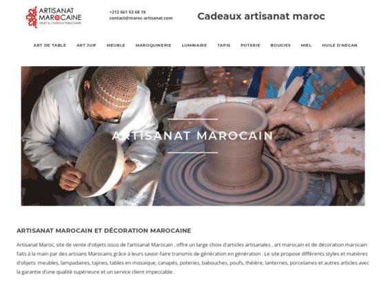 Photo image Vente de produits artisanaux du Maroc