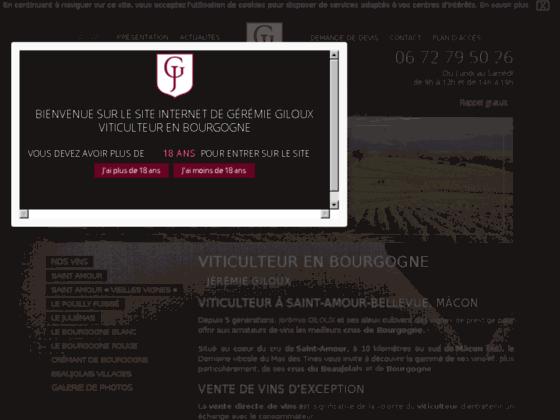 Détails : Vente de vin Saint Amour, Mâcon