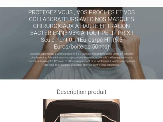 image du site https://www.masquechirurgicaljetable.com