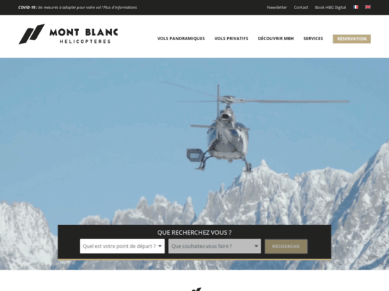 Photo image MBH Mont Blanc Helicopteres bapteme location air taxi transfert en helicoptere