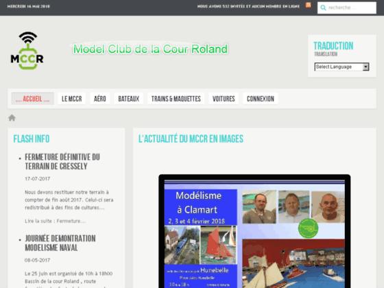 Photo image MCCR Model-Club de la Cour Roland, modélisme avions bateaux trains voitures