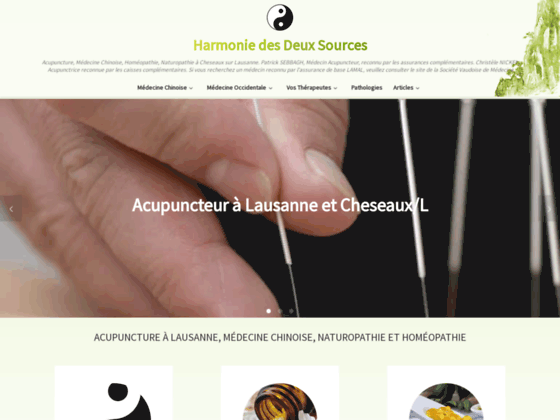 Acupuncture a Lausanne