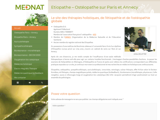 Photo image MedNat - Ostéopathe-Etiopathe muti-disciplinaire