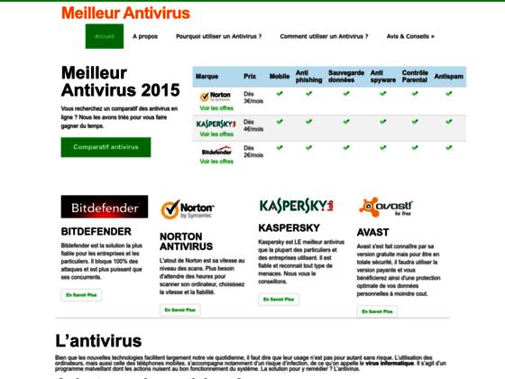Détails : Le meilleur antivirus, comparateur en ligne