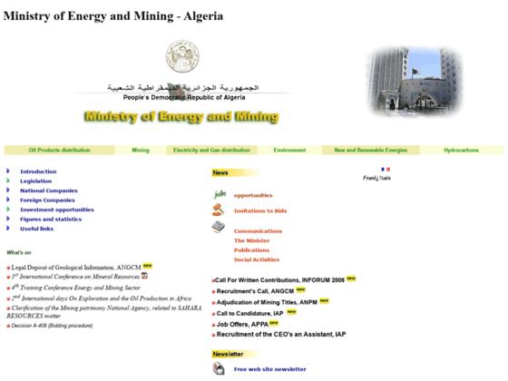 Photo image Ministere de l'energie et des mines