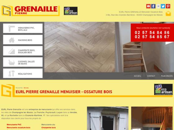 EURL Pierre Grenaille, entreprise de menuiserie