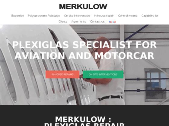 Photo image Réparation plexiglas, polissage plexiglas, maintenance aéronautique Merkulow