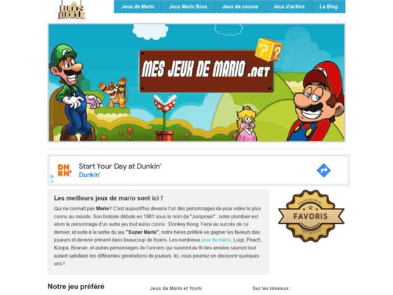 Détails : Mes jeux gratuits de Mario