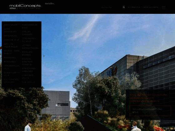 Détails : Mobilier urbain & Aménagement urbain : MOBIL CONCEPTS distributeur officiel de METALCO France.