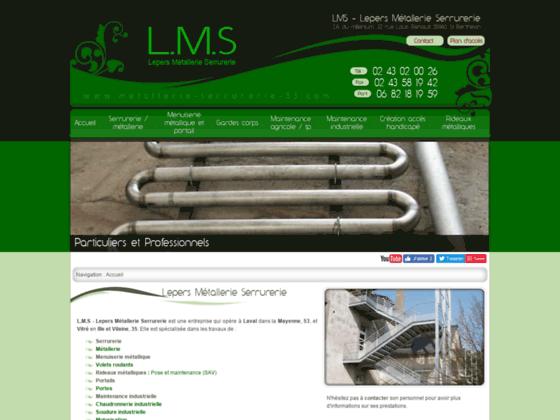 Détails : L.M.S - Lepers Métallerie Serrurerie