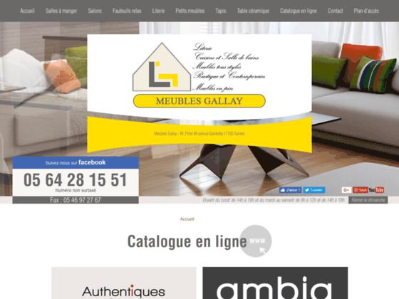 Détails : Meubles Gallay, entreprise de vente meubles