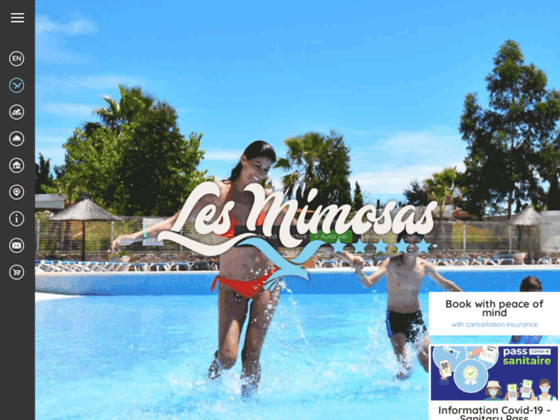 Détails : camping Les Mimosas