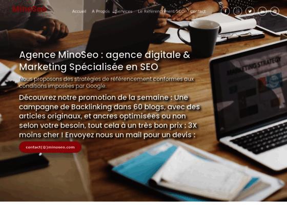 image du site https://www.minoseo.com