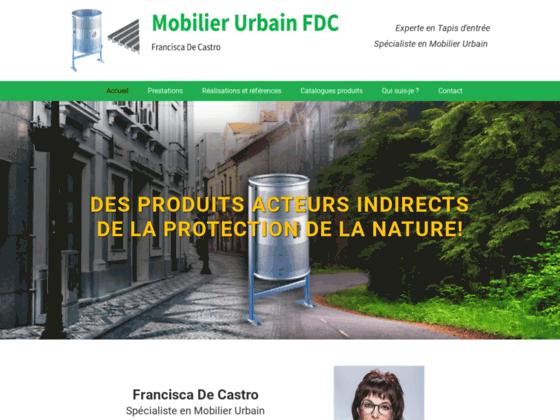 image du site http://www.mobilierurbainfdc.ch