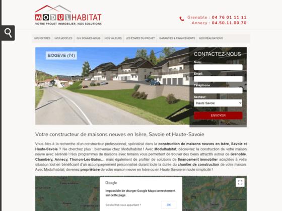 Détails : construction maison grenoble