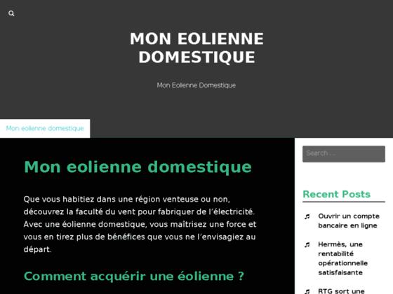 Détails : Www.mon-eolienne-domestique.com - Eolienne pour particulier