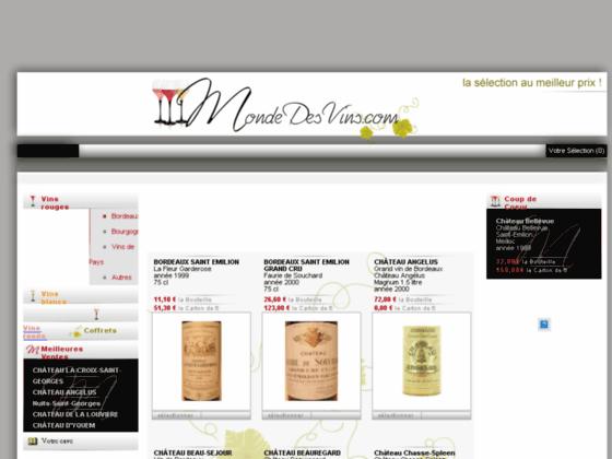 Détails : Catalogue de vins et de grands crus
