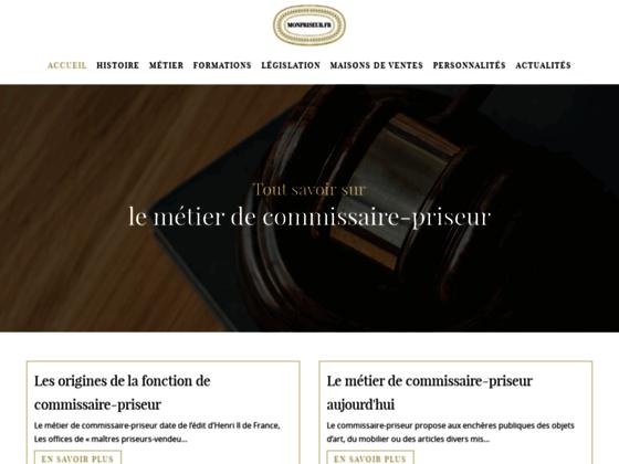 Détails : Monpriseur - Site d'enchères en ligne