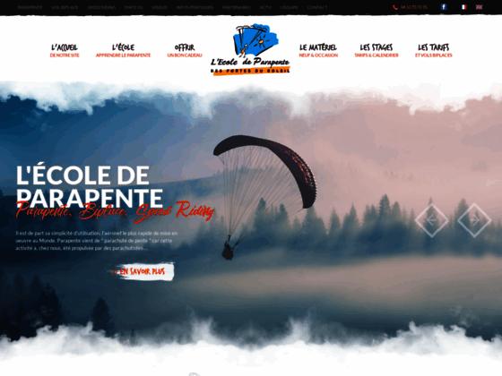 Photo image Parapente Morzine 74 Haute-Savoie, école de parapente Morzine, vol biplace Morzine