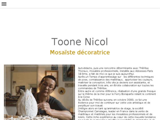 Photo image mozaiktoone