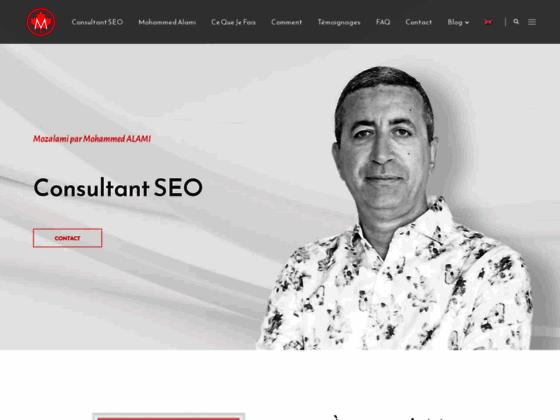 Détails : Mozalami site de Mohammed ALAMI consultant SEO à Montréal - Québec
