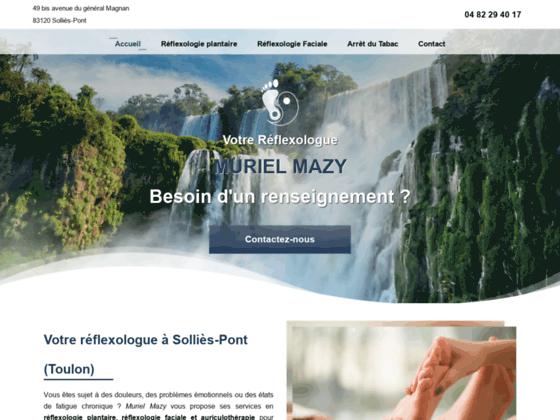 image du site https://www.murielmazy-reflexologie.fr/