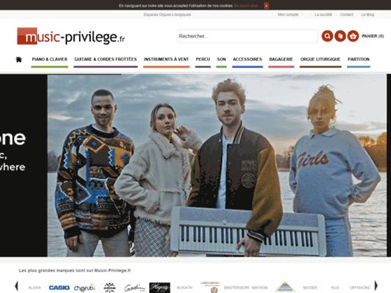 Détails : Music Privilège