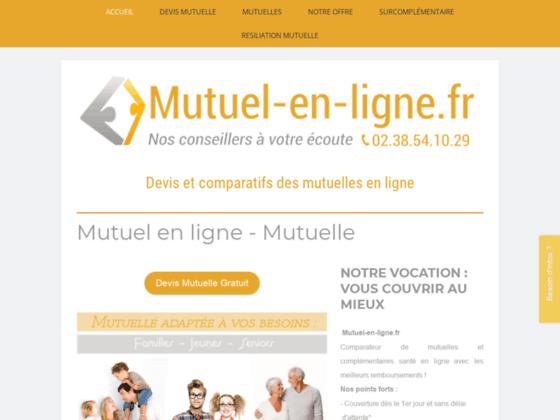 Détails : mutuel-en-ligne.fr - Comparez mutuelles et complémentaires santé